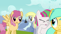 Blossomforth coughing S2E22