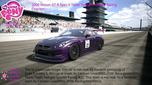 File:FANMADE MLP Racing Team Twilight Sparkle's car.jpg