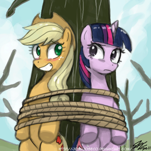 File:FANMADE Twilight Applejack Rope.png