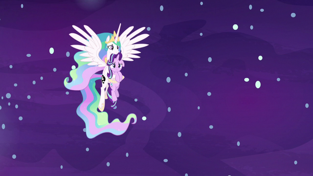 File:Princess Celestia carrying Starlight Glimmer S7E10.png