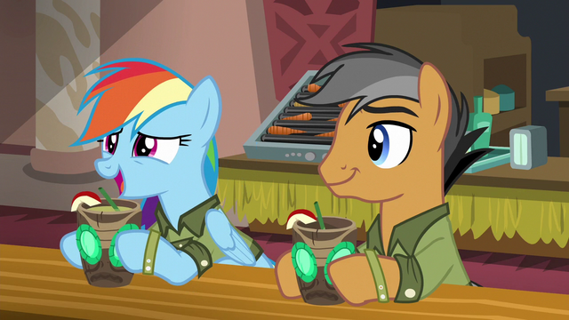"File:Rainbow ""I knew the convention would be"" S6E13.png"