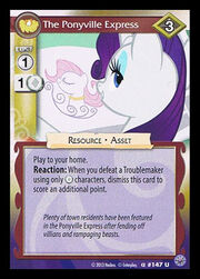 The Ponyville Express card MLP CCG