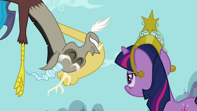"File:Twilight and Discord ""out of that prison block"" S03E10.png"