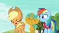 """Applejack """"quicker than Granny Smith can core an apple"""" S6E18.png"""