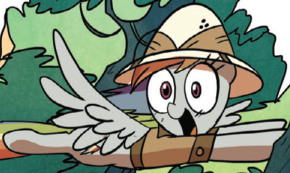 File:Comic issue 15 Rainbow as Daring Do.png