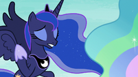 "Princess Luna ""it doesn't work in the dream realm"" S7E10"