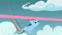 Rainbow Dash wins another race S5E3