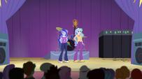 Celestia and Luna step on stage EG2