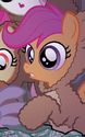 Micro-Series issue 7 Scootaloo bear costume