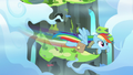Rainbow flying away from the Wonderbolt Academy S6E24.png