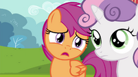 "Scootaloo ""for learning skills to be big shots"" S4E15"