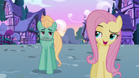 "Fluttershy ""we talked about you getting a job"" S6E11"