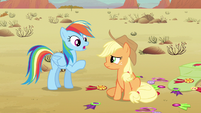 Rainbow Dash send money S2E14