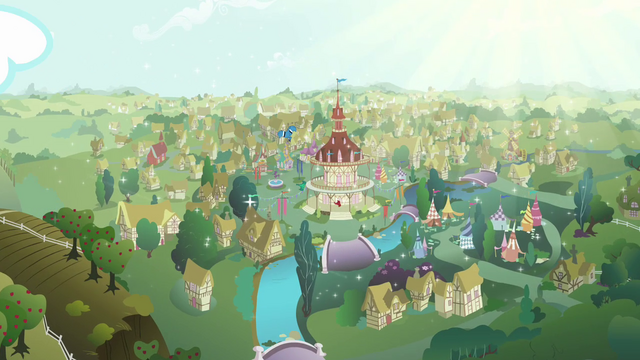 File:Ponyville sparkling bright S03E13.png