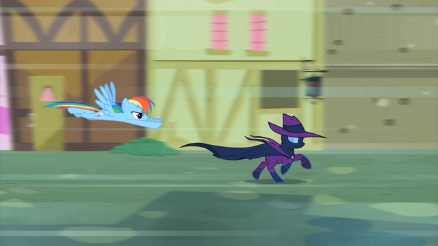 File:Rainbow Dash chasing Mare Do Well S2E08.png