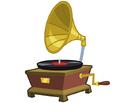 Canterlot Castle phonograph.png