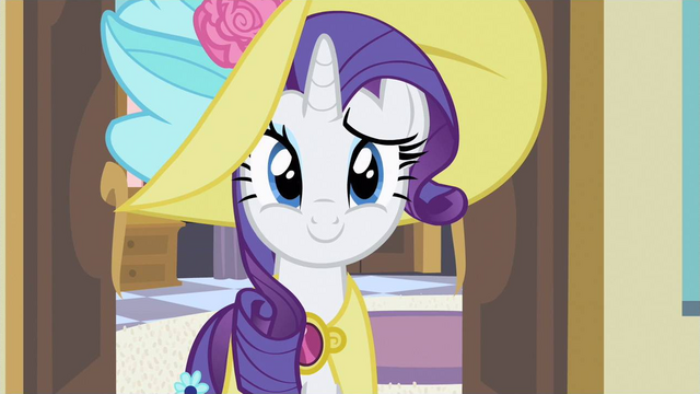 File:Rarity cheers her S2E9.png