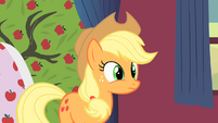 Applejack talks to Rarity about the tree S1E21
