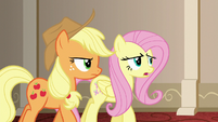 "Fluttershy ""whether we were able to fool you or not"" S6E20"