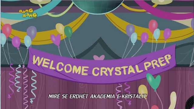 File:Friendship Games Welcome Crystal Prep banner - Albanian.png