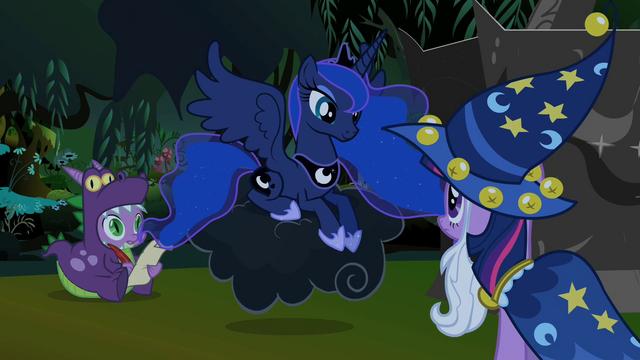 File:Princess Luna on her own lightning cloud S2E04.png