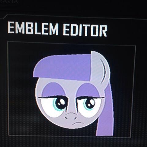 File:FANMADE Maud Pie Black Ops 2 Emblem.jpg