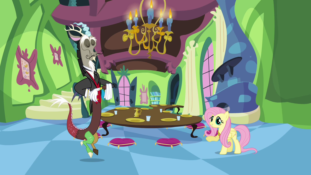 Image - Fluttershy's fancy new house S03E10.png | My ...