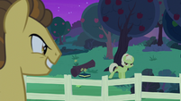Granny angrily walking away from Grand Pear S7E13