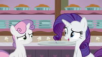 "Rarity ""I know you're dying to dig in"" S7E6"
