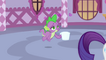 Spike floats on wings of love S03E11.png