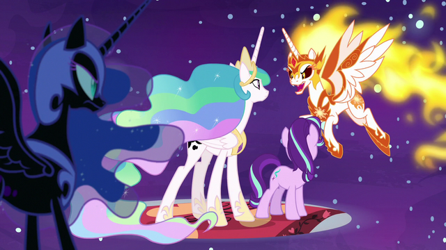 """File:Daybreaker """"Luna can turn into Nightmare Moon"""" S7E10.png"""