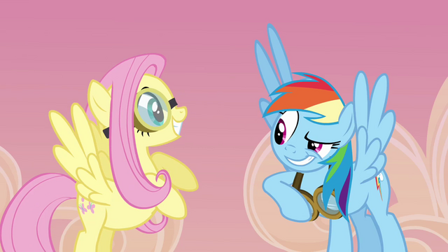 File:Rainbow and Fluttershy smiling S2E22.png