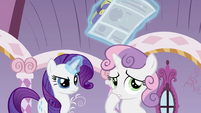 Sweetie Belle discovered S2E23