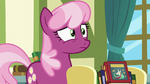 Cheerilee notices something behind Twilight S7E3