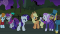 Neighbor and Business Ponies enjoyed the play S5E16.png