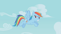 Rainbow Dash angry at Pinkie S01E05