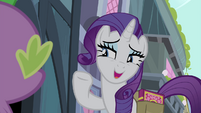 "Rarity ""I knew I could count on you"" S4E23"