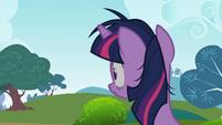 Twilight Sparkle hearing something S2E03