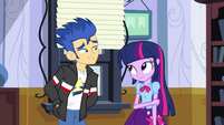 Flash asks Twilight to the dance EG