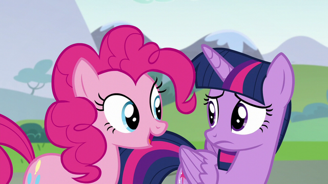 "File:Pinkie Pie ""he makes another good point"" S5E22.png"