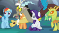 Discord suggesting a party at Fluttershy's house S6E26.png