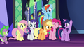 Mane Six decide to have a spa day S7E2.png
