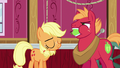 Applejack pleased to have silenced Big McIntosh S6E23.png