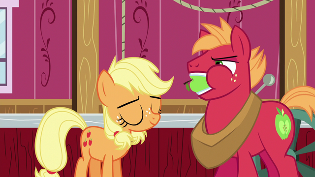 File:Applejack pleased to have silenced Big McIntosh S6E23.png