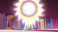 Big ball of alicorn magic forming S4E26