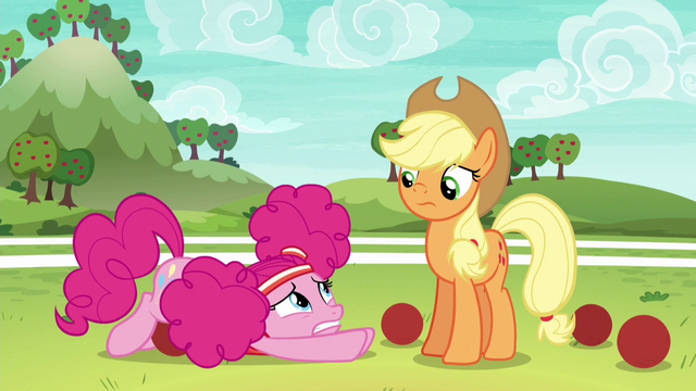 File:Pinkie looking overwhelmed at Applejack S6E18.png