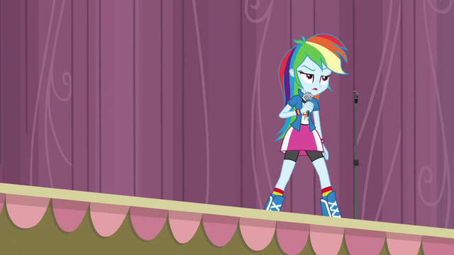 File:Rainbow annoyed at Pinkie's outburst EG3.png
