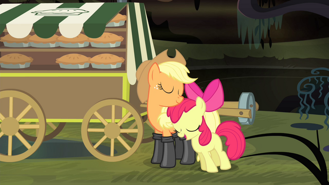 """File:Apple Bloom """"and MY sister"""" S4E17.png"""