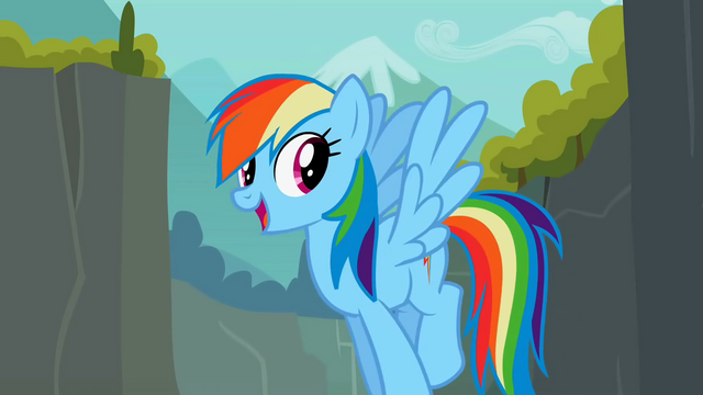 "File:Rainbow Dash ""Through Ghastly Gorge"" S2E07.png"