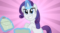 Rarity gets mail S2E9
